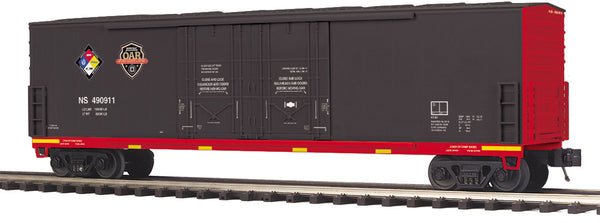 MTH Premier 20-93699 Norfolk Southern NS First Responders Hazmat Safety Train 50' Dbl. Door Plugged Boxcar - No. 490911