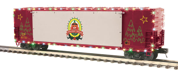 MTH 20-93751 Canadian Pacific CP 50' Boxcar with Opening Stage Door and Operating LED's #401750