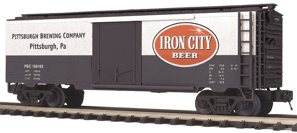 MTH Premier 20-94095 Iron City Beer Operating Reefer Car