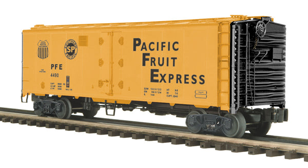 MTH Premier 20-94148 Pacific Fruit Express PFE 40' Steel Sided Reefer #4490