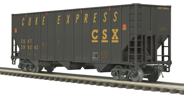 MTH Premier 20-97159 CSX Coke Hopper with Coke Load