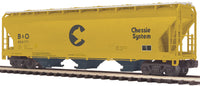 MTH Premier 20-97532 Baltimore & Ohio B&O Chessie System 3-Bay Centerflow Hopper