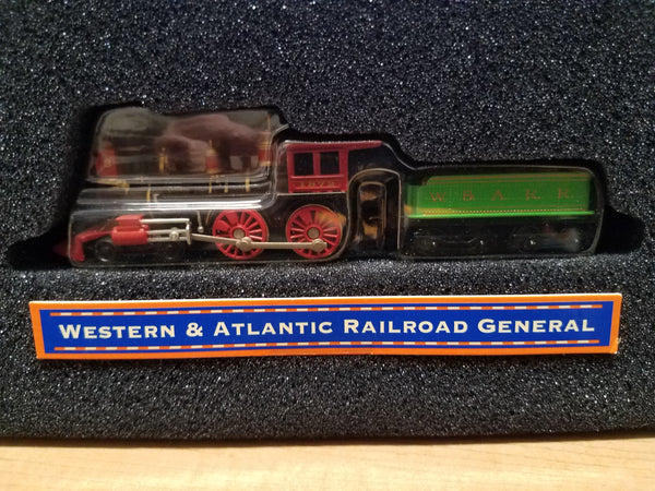 Lionel Series 1 Big Rugged Trains Western & Atlantic Railroad General Steam Engine Diecast Toy Engine 1:120 Scale in Decorative Tin