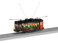 Lionel 2035010 End of Line Express ELX Halloween Trolley