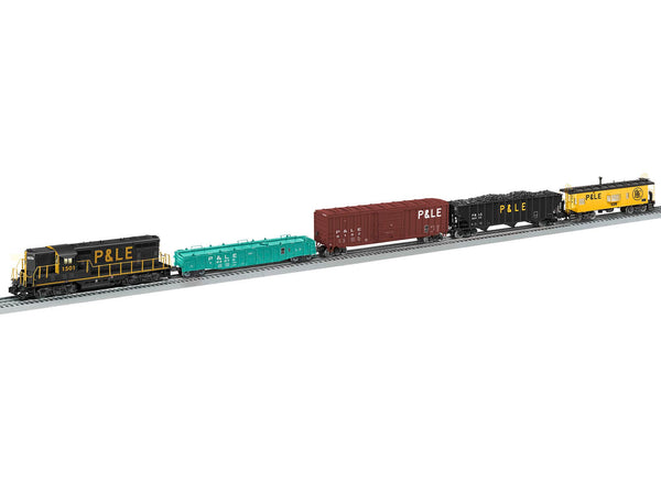 Lionel 2122010 Aliquippa Turn Pittsburgh & Lake Erie P&LE Freight Set Preorder