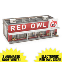 Menards 279-5011 Red Owl Store HO Scale