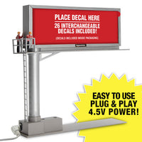 Menards 279-3693 Lighted Billboard with 26 different Signs