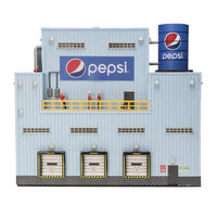 Menards 279-5014 Pepsi Bottling Plant HO Scale