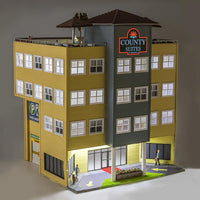 Menards 279-5142 County Suites Hotel HO Scale
