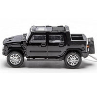 Menards 279-4477 Lighted 1:48 Die-Cast Black SUV