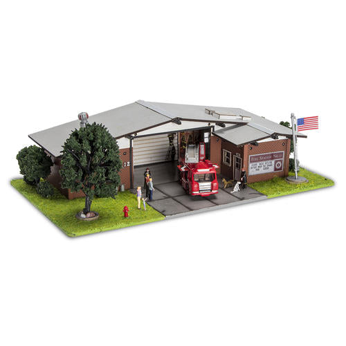 Menards 279-5015 Fire Station No. 12 HO Scale