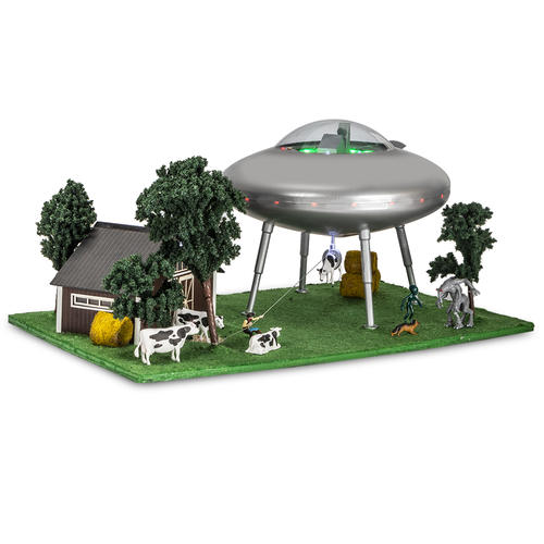 Menards 279-5022 UFO Scene Encounter HO Scale
