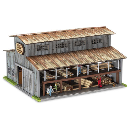 Menards 279-5530 Cripple Creek Lumber Yard HO Gauge
