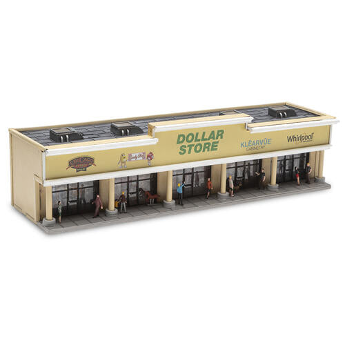 Menards 279-5735 Strip Mall Shopping Center HO Scale