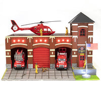 Menards 279-5927 Fire Station #9 O Scale