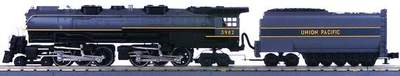 MTH 30-1107-0 Union Pacific UP Challenger Two-Tone Gray 4-6-6-4 Steam Engine Used
