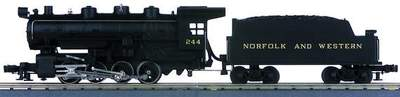 MTH 30-1111-1 Norfolk Western 0-8-0 Switcher Used