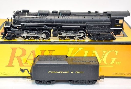 MTH 30-1117LP or 30-1117-1 Chesapeake & Ohio C&O Allegheny 2-6-6-6 Articulated Steam Engine - Used
