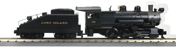 MTH 30-1710-1 Long Island Railroad LIRR 0-6-0 Imperial B-6 Switcher Steam Engine w/Proto-Sound 3.0 - Cab No. 170