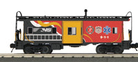 MTH 30-20361A Norfolk Southern NS First Responders Caboose