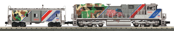 MTH 30-20520-1 Union Pacific UP (Spirit of Union Pacific) Imperial Diesel & Caboose Set With Proto-Sound 3.0 -