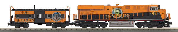 MTH 30-20756-1 Halloween ES44AC Imperial Diesel #3131 & Caboose Set With Proto-Sound 3.0 Limited