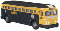MTH 30-50038 Pittsburgh Steelers New Orleans Bus