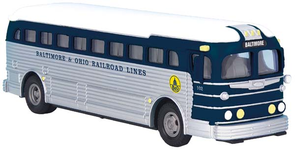 MTH 30-50055 Baltimore & Ohio B&O Railroad Lines Bus