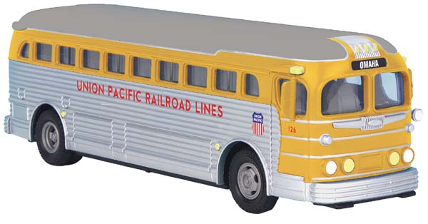 MTH 30-50056 Union Pacific UP Railroad Lines Bus Omaha