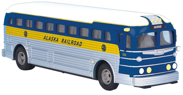 MTH 30-50068 Alaska Railroad Lines Greyhound Bus #200