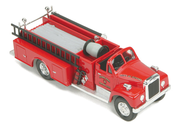 MTH 30-50091 Pennsylvania Railroad PRR Altoona Works Die-Cast Fire Truck
