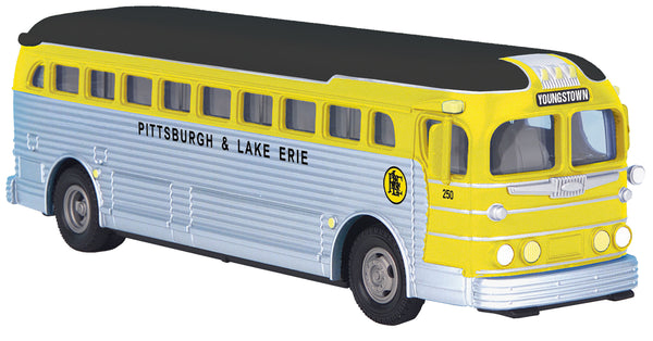 MTH 30-50106 Pittsburgh & Lake Erie P&LE Bus Youngstown #250