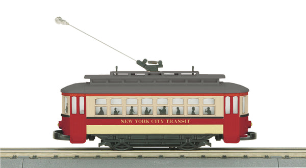 MTH 30-5139 New York Transit Bump & Go Trolley #568