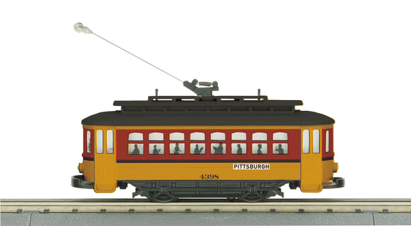 MTH 30-5142 Pittsburgh Bump & Go Trolley