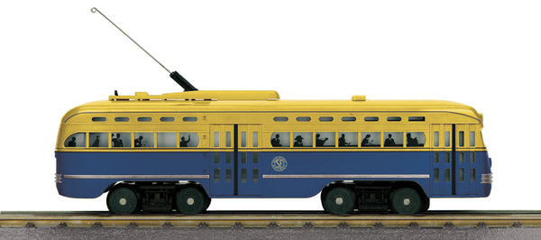 MTH 30-5164-1 San Francisco PCC Electric Street Car With Proto-Sound 3.0 - No. 1010