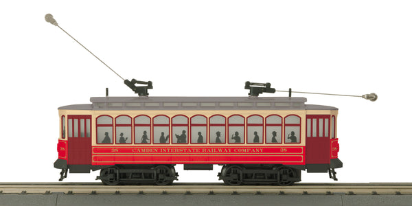 MTH 30-5171-1 Camden Interstate Railway Company Brill Semi-Convertible Trolley w/Proto-Sound 3.0 -  # 38