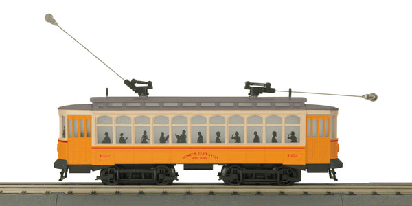 MTH 30-5173-1 Boston Elevated Railway Brill Semi-Convertible Trolley w/Proto-Sound 3.0 -  # 4352