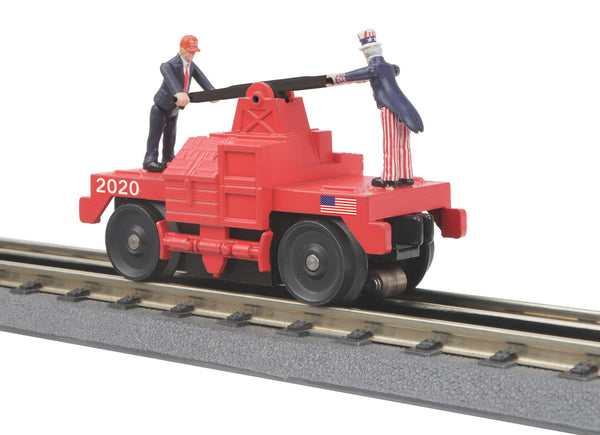 MTH 30-5189 Donald Trump Operating Hand Car PREORDER