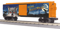 MTH 30-71018 Halloween Wolf Boxcar with Glowing LEDs