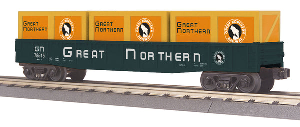 MTH 30-72152 Great Northern GN Gondola Car with Crates