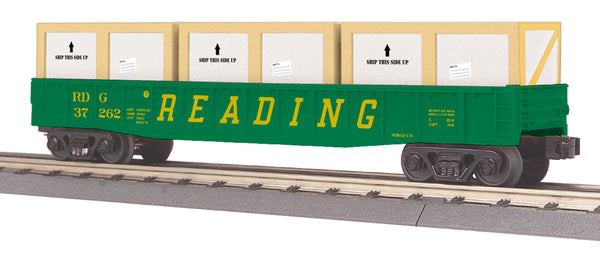 MTH 30-72176 Reading Gondola Car w/ Crates MTH Railking