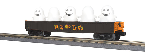 MTH 30-72208 Halloween Gondola Car w/Flickering Lighted Ghosts