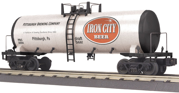 MTH 30-73135 Pittsburgh Brewery Co Iron City Modern Tank Car