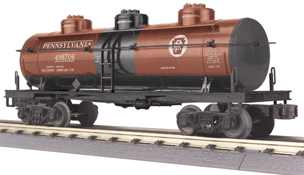 MTH 30-73194 Pennsylvania 3 Dome Tank Car # 498706