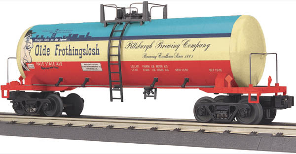 MTH 30-73201 Pittsburgh Brewing Company Olde Frothingslosh Modern Tank Car