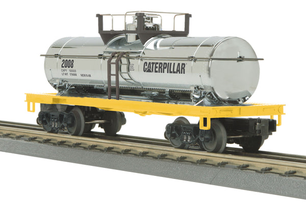 MTH 30-73270 Caterpillar Chrome Tank Car #2008