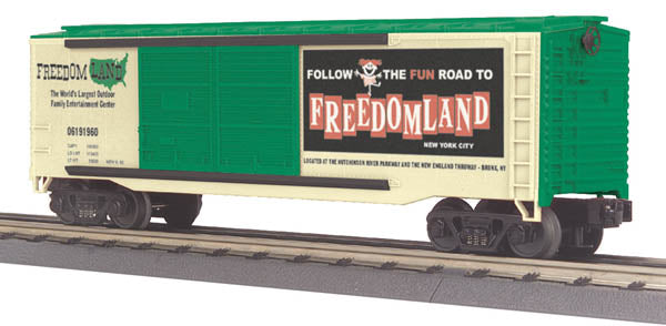 MTH 30-74130 Freedomland 40' Double-Door Boxcar