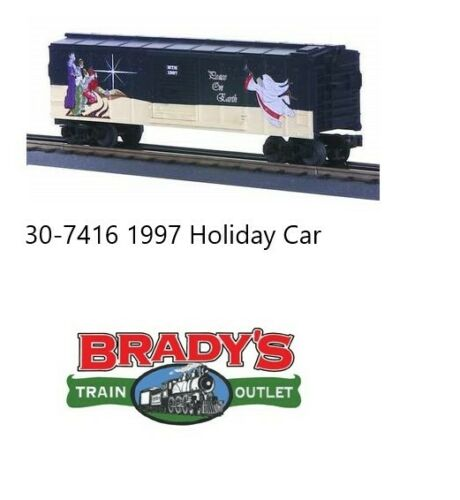 MTH 30-7416 Holiday Boxcar 1997