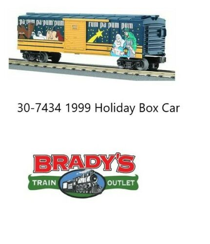 MTH 30-7434 Holiday Boxcar 1999