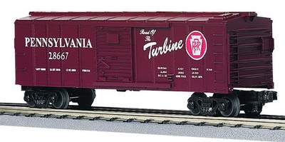 "MTH 30-7437 Pennsylvania PRR ""Route of the Turbine"" Boxcar"